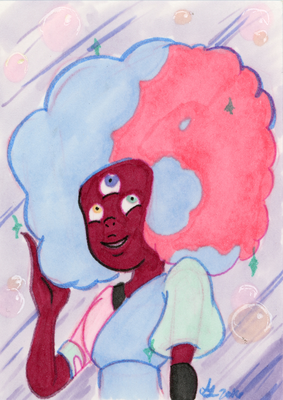 Cotton Candy Garnet - Steven Universe
