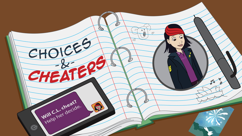 """NSTeens Interactive Comic: """"Choices & Cheaters"""""""