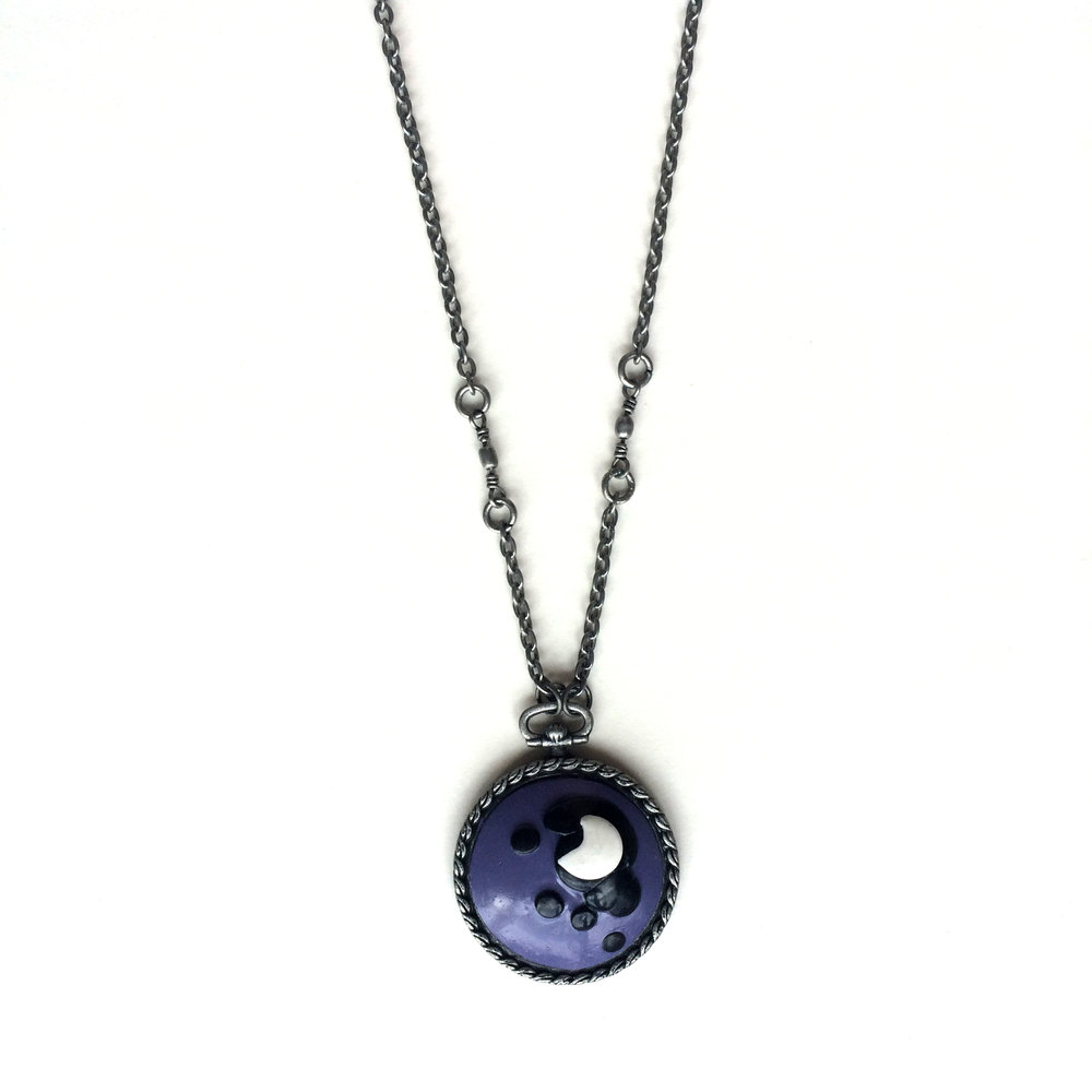 Princess Luna Cameo Necklace