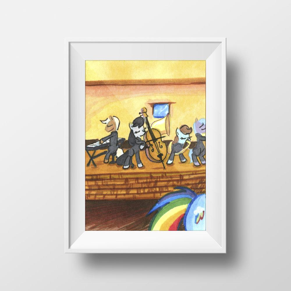 "Ponies in Mos Eisley Trading Card Set, Pt 1 - 2.5"" x 3.5"""