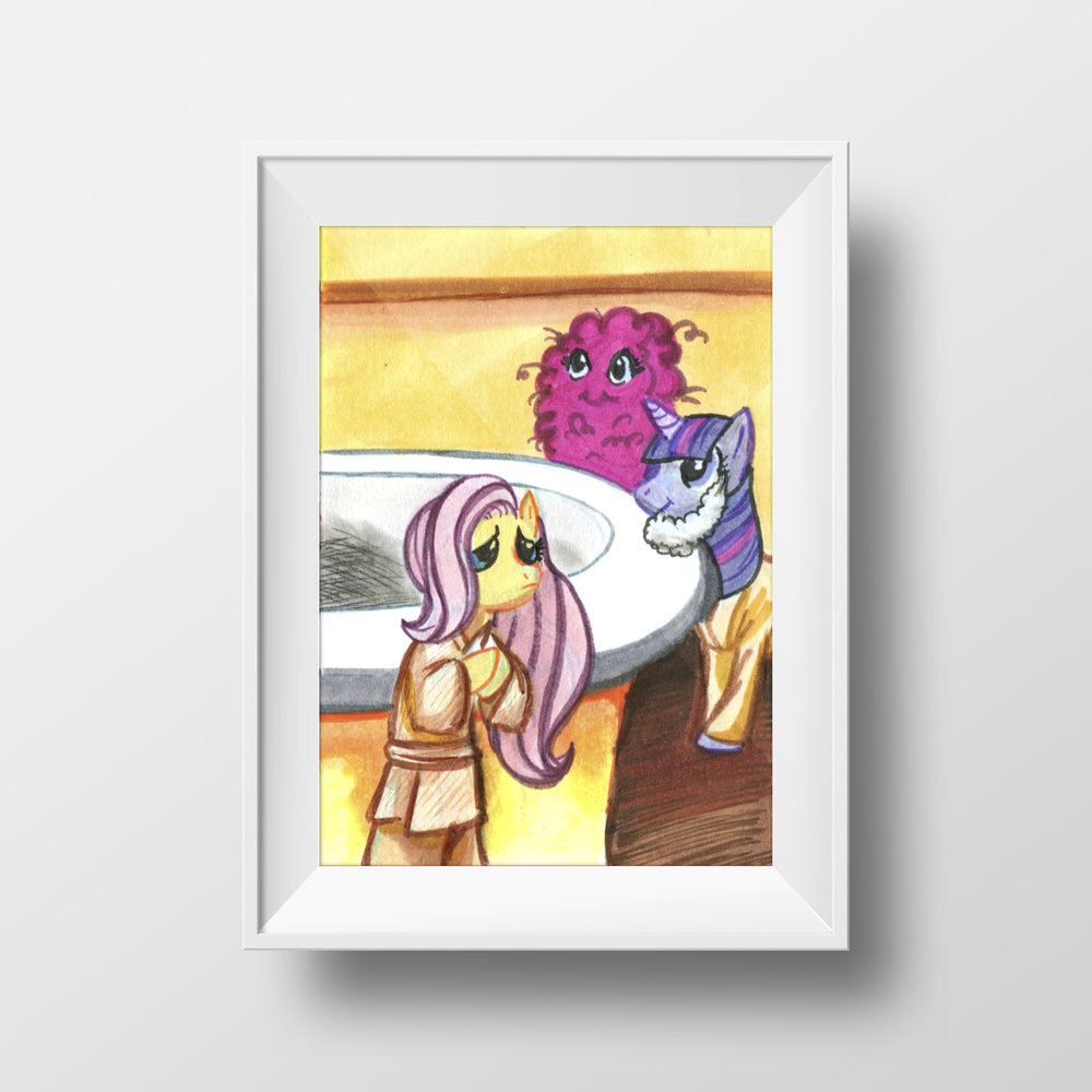 "Ponies in Mos Eisley Trading Card Set, Pt 4 - 2.5"" x 3.5"""