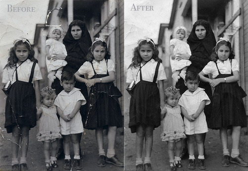 Photo Reconstruction