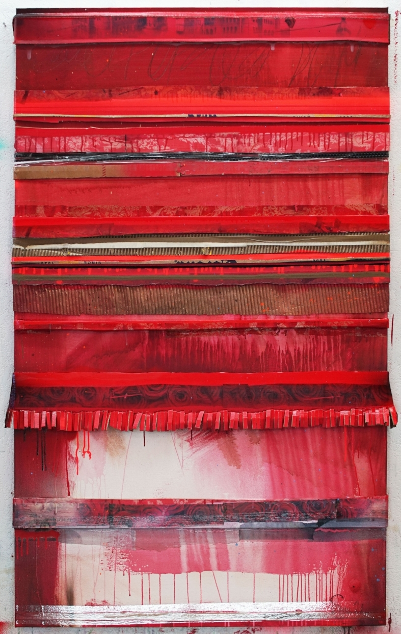 """Red Carpet"", 60 x 36, 2018"