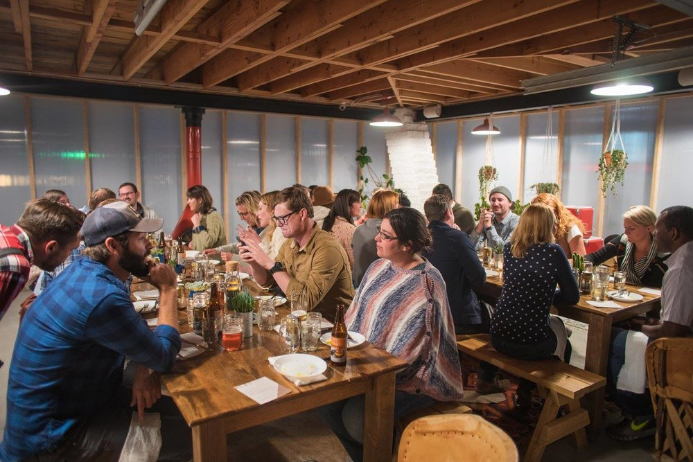 Megan Ranegar, Event Planner for The Dinner Party Association, launched her destination dinner party in Salida, CO.