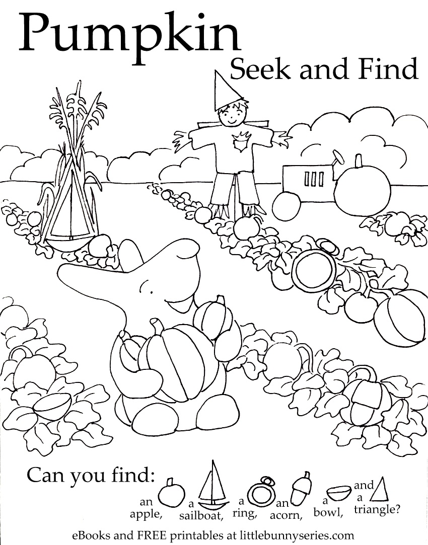 Pumpkin Seekand Find PDF