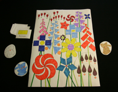Click on the photo above for a Shape Garden Game PDF