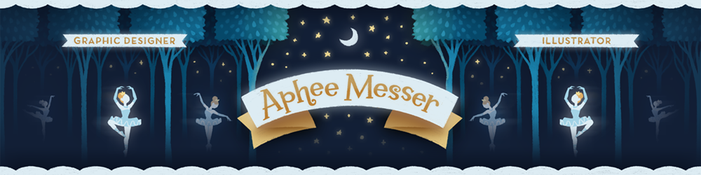 Aphee Messer — Graphic Designer