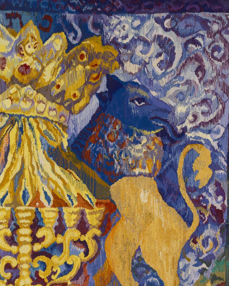 Yizkor tapestry, detail