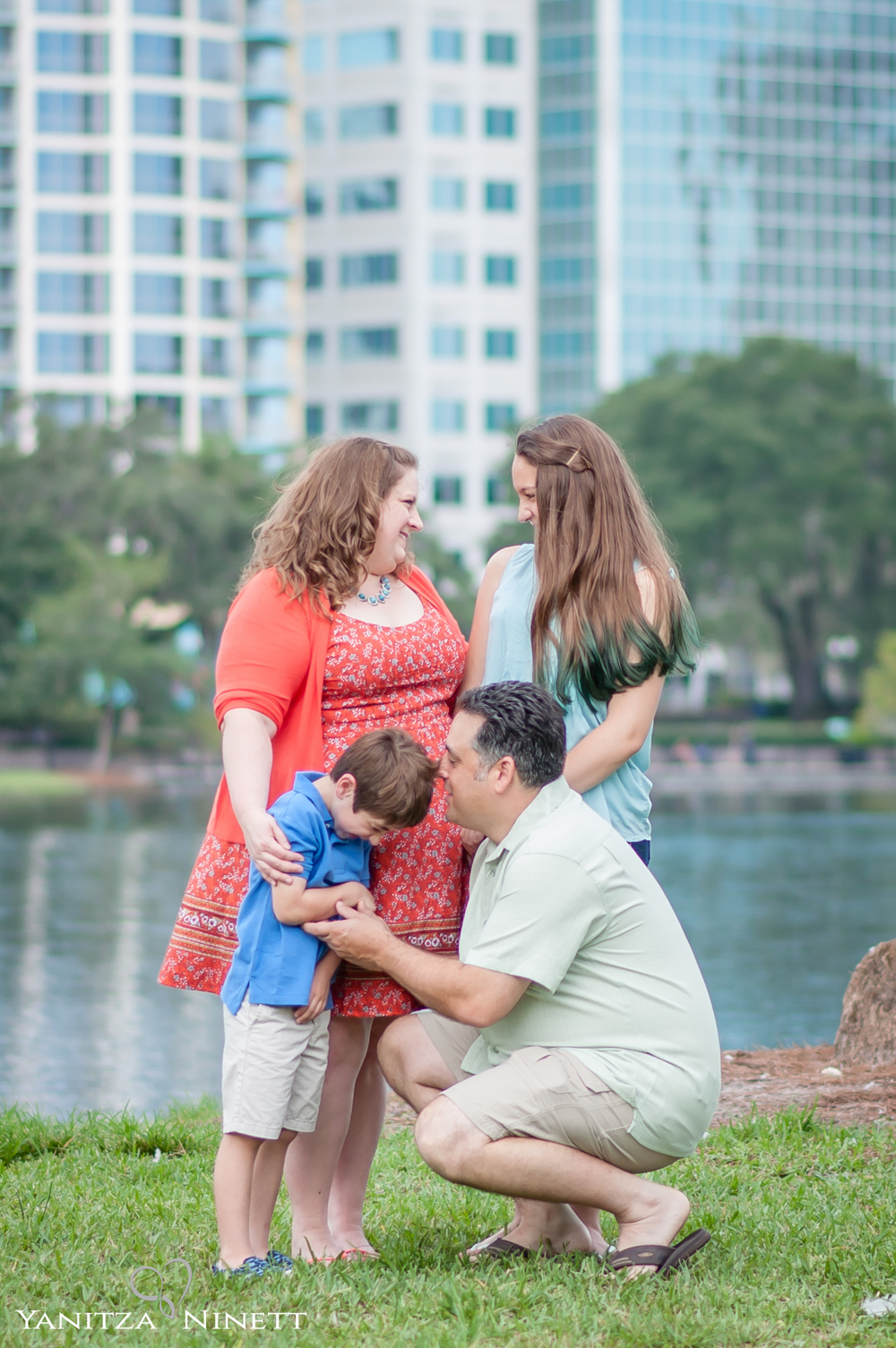 Lake Eola Family Session