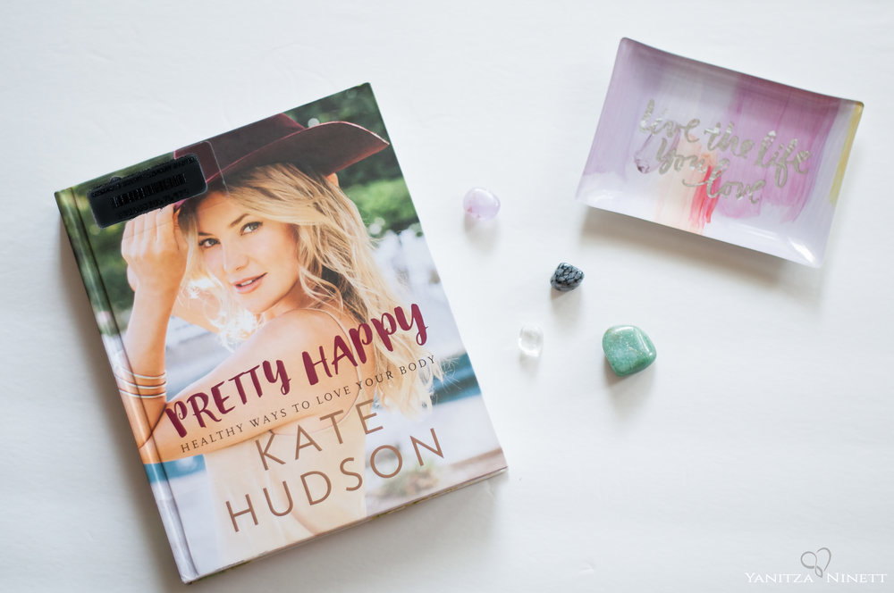 pretty happy kate hudson hardcover book