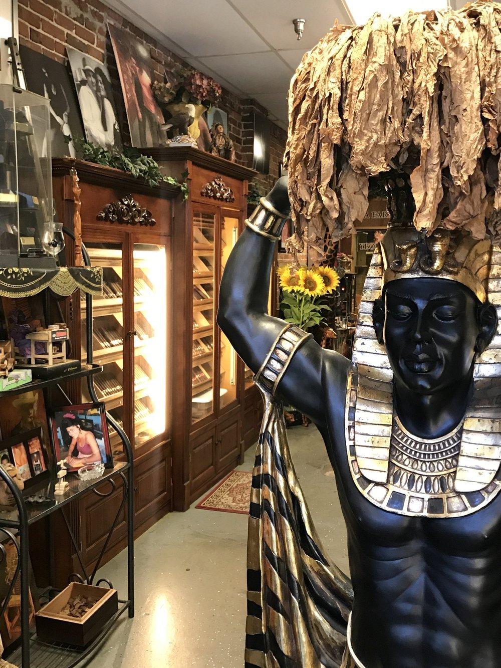 pharaoh cigar shop