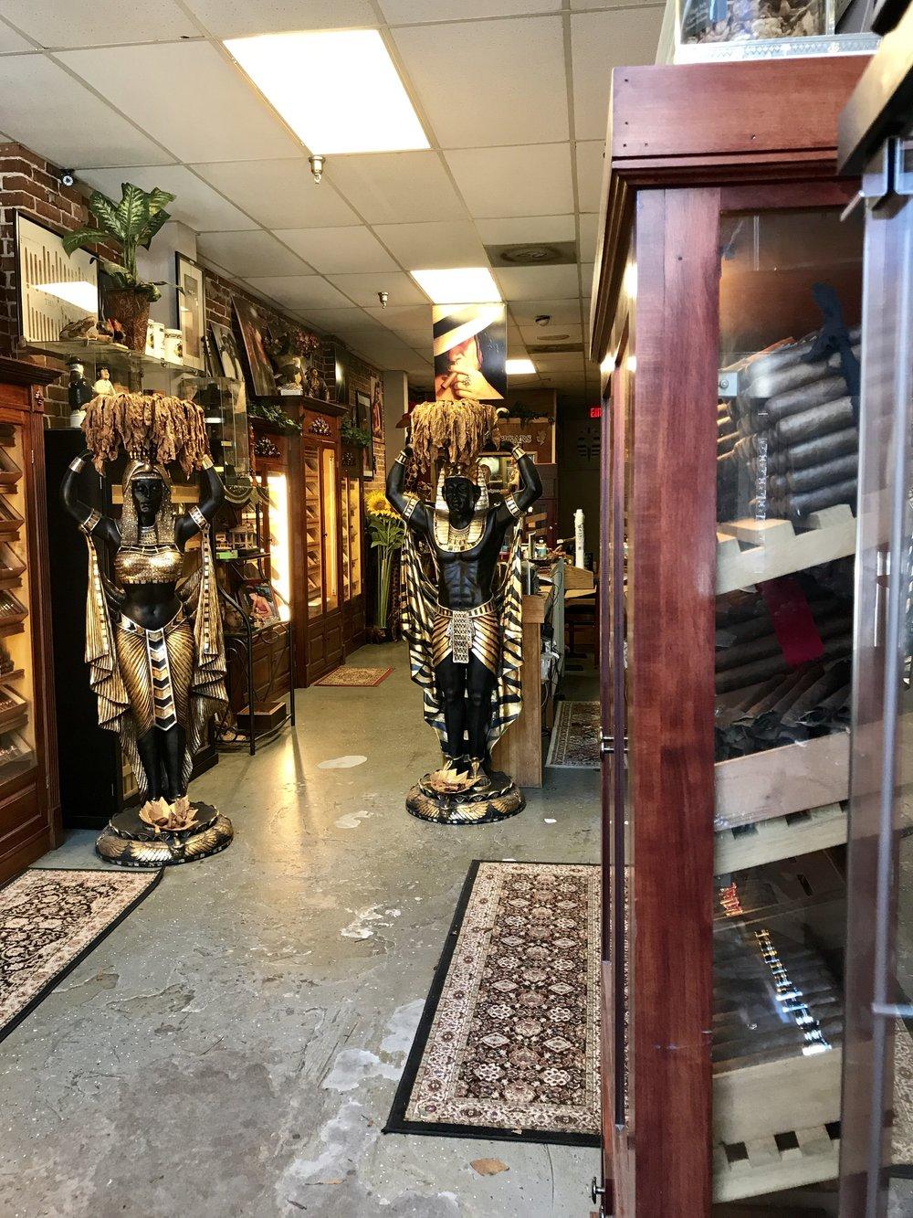 la faraona cigar shop ybor city