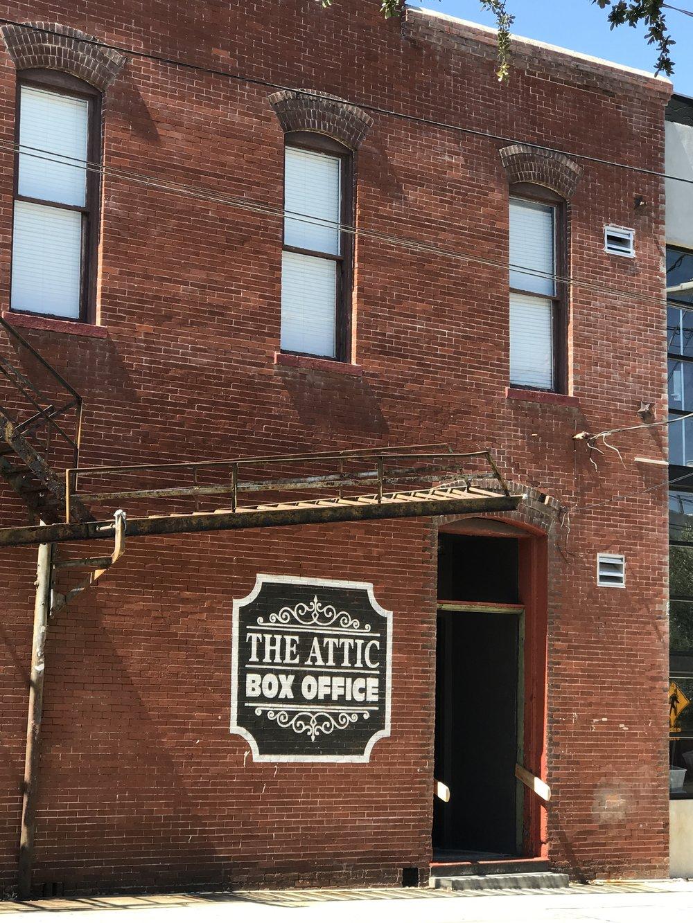 the attic post office in ybor city