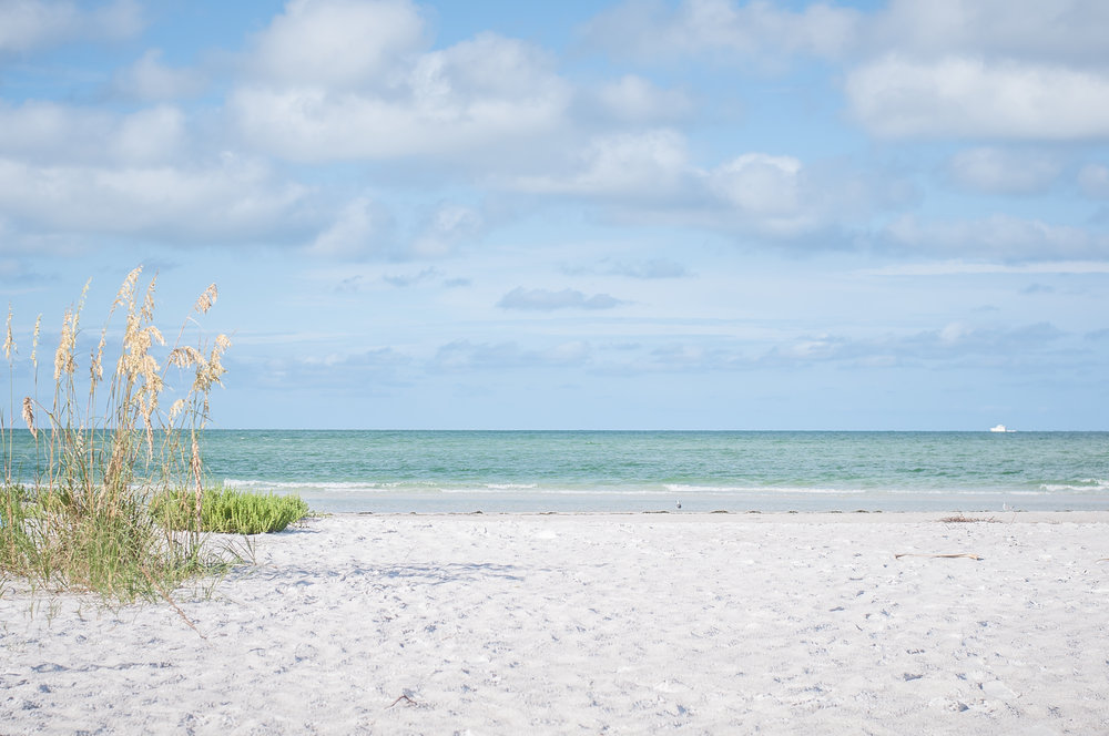 Longboat Key Beach. The peacefulness I experimented while in this beach was, quite honestly, unforgettable. The calmness, the beauty, the perfection. It's definitely a must-see beach.