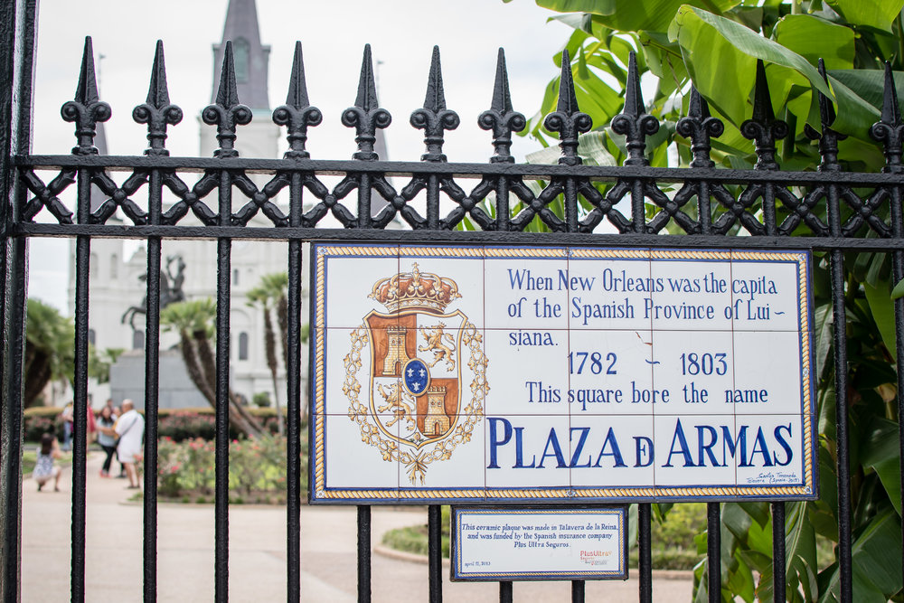 Plaza d Armas in New Orleans