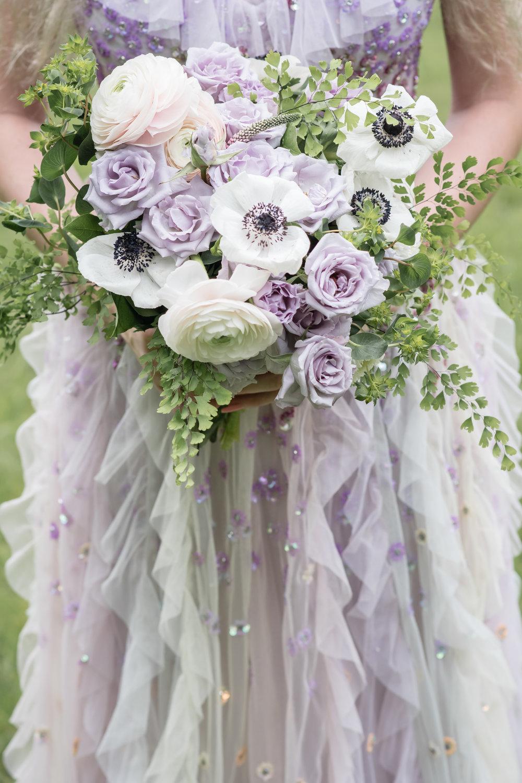 whimsical flower arrangement bridal bouquet