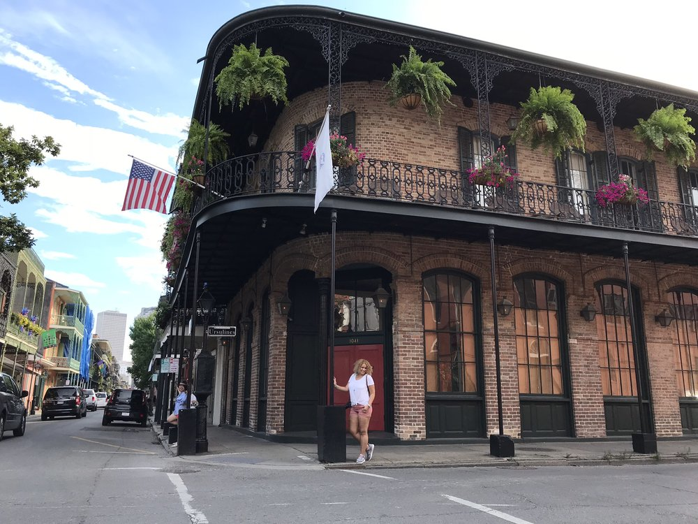 Visiting New Orleans was heaven for me! Especially seeing 'The Mikaelson Mansion'!