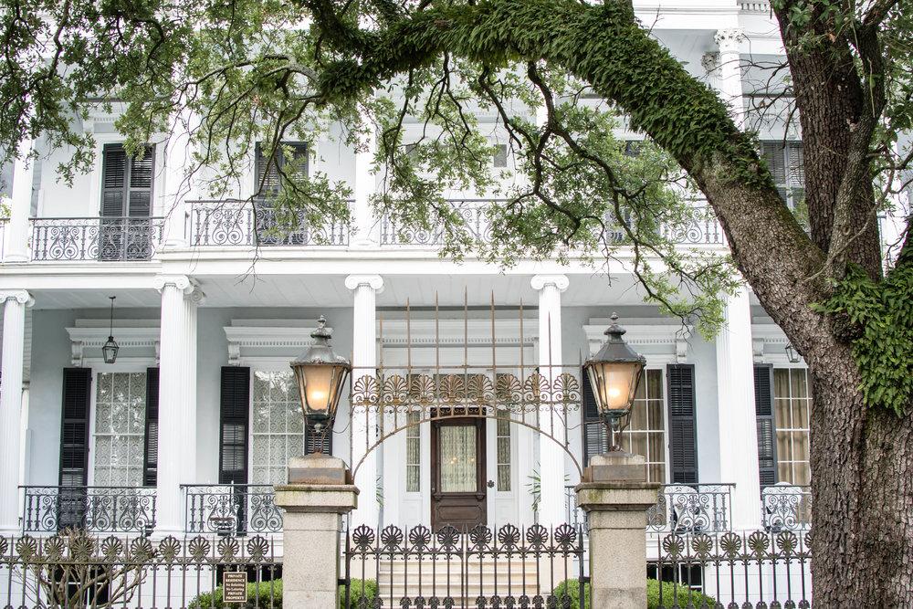 The Buckner Mansion New Orleans travel photographer Yanitza Ninett