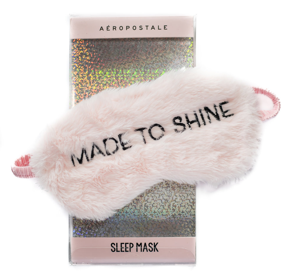 sleep mask christmas gift from Aeropostale