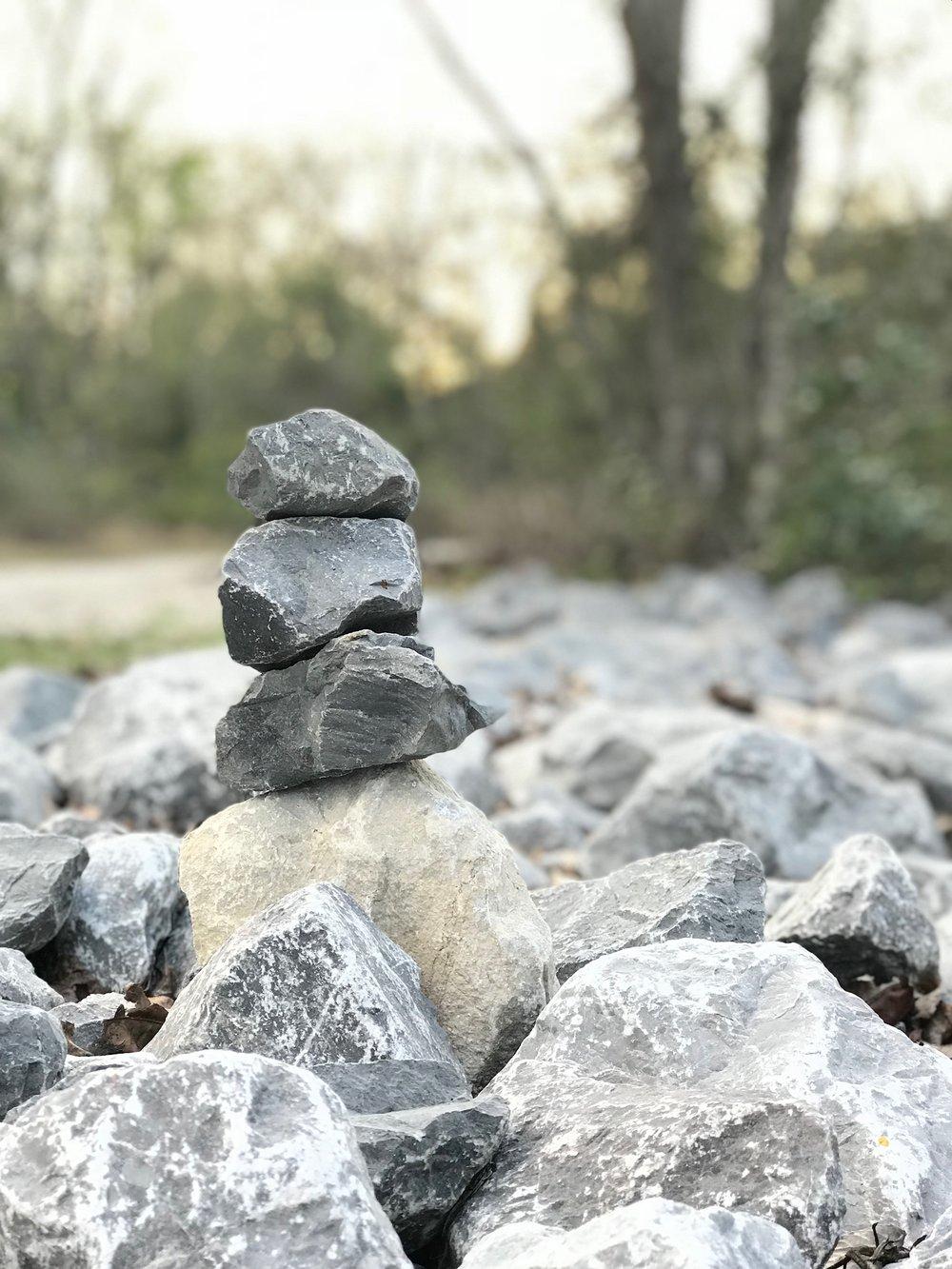 meditation rocks in florida Yanitza Ninett photography