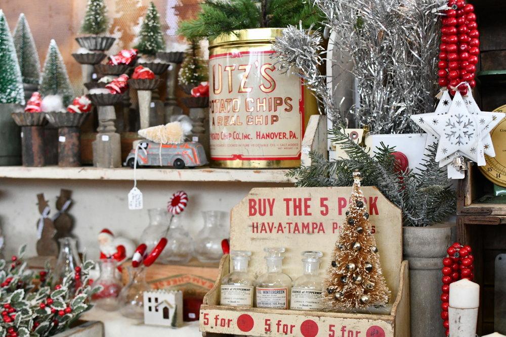 vintage Christmas tins Yanitza Ninett photography