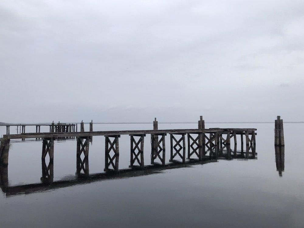 stormy weather at the riverfront Yanitza Ninett Photography
