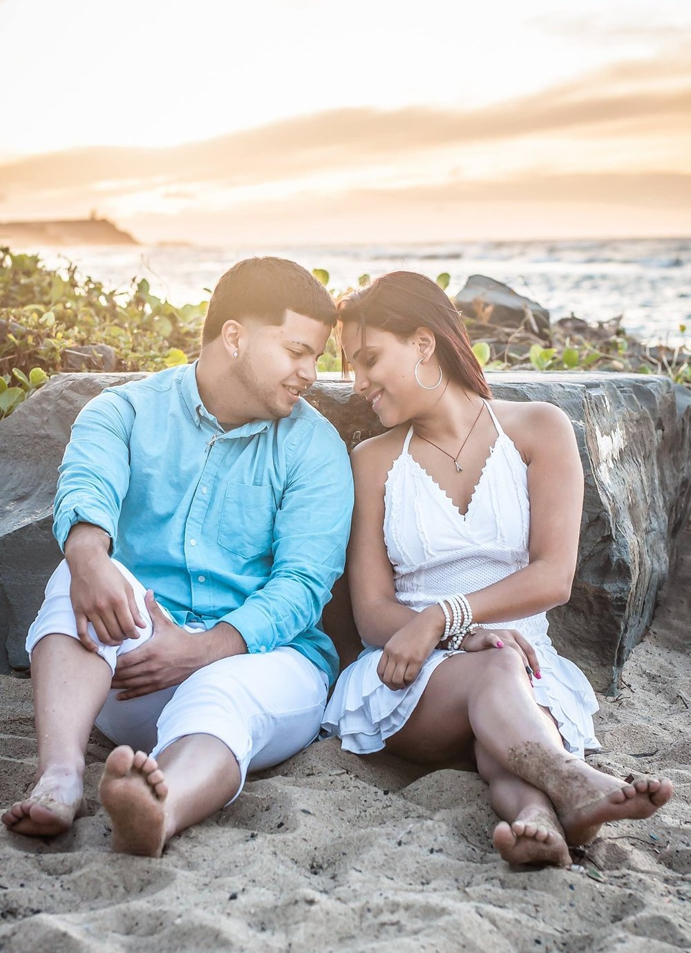 beach engagement photos Orlando photographer Yanitza Ninett
