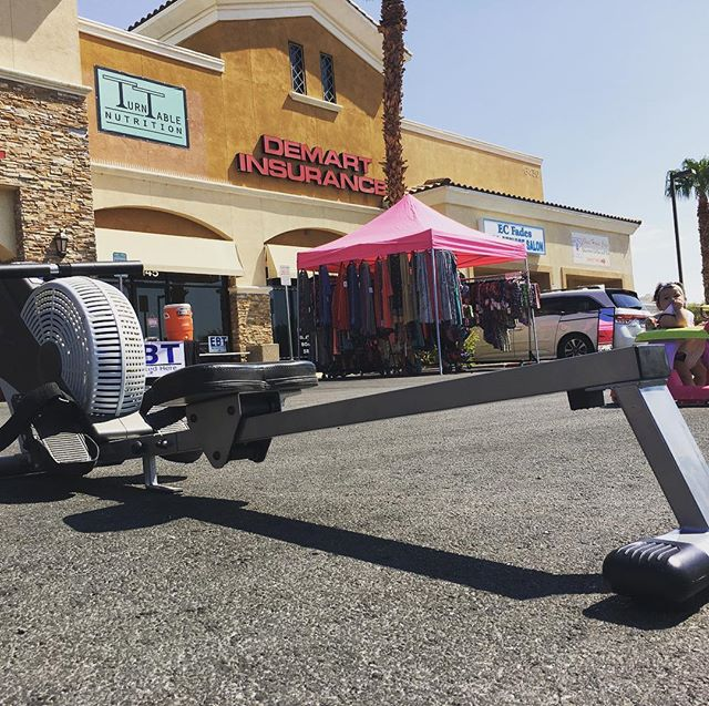 Get your #workout on at @turntablenutrition on Lake Mead for #Family #Fitness Day!! #foodie #vegas #summer