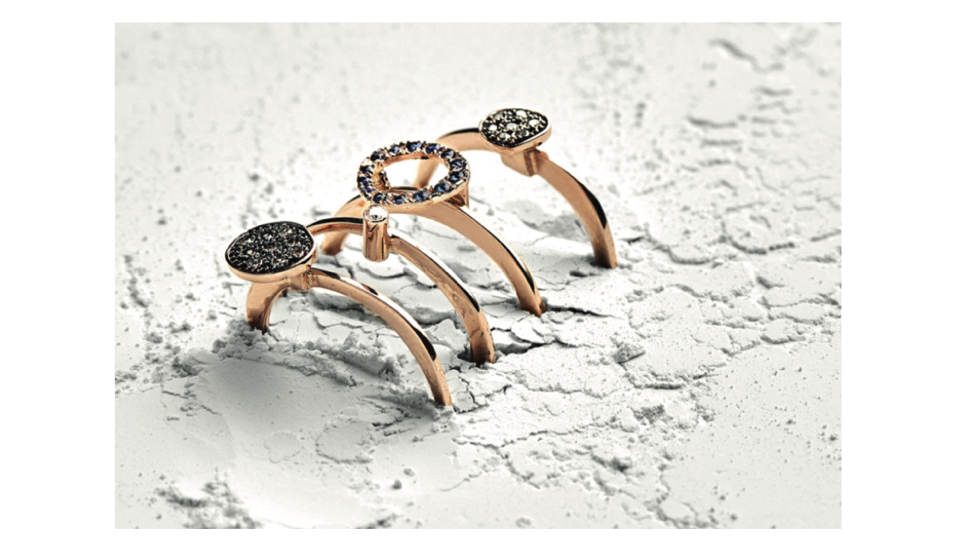Fotini Psarouli Rings starting from £325, at    Kabiri
