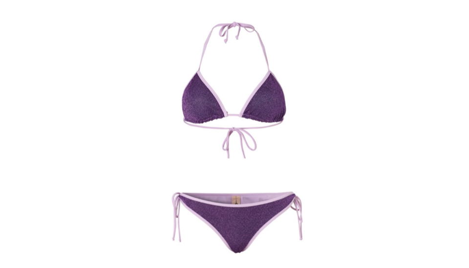 Get the Becksondergaard Orchid Bloom Bikini Top, £36,    here    and Bottom, £36,    here   , at AIDA