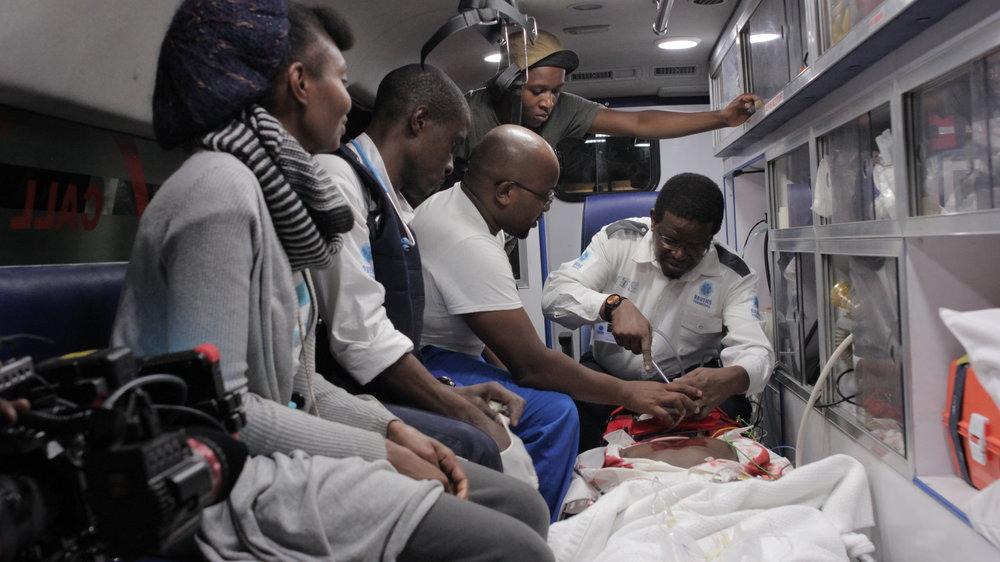 18 hours film inside ambulance