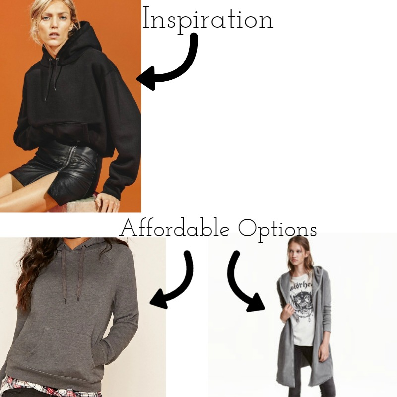 Inspiration Source | Affordable Pieces Source| Left  | Right