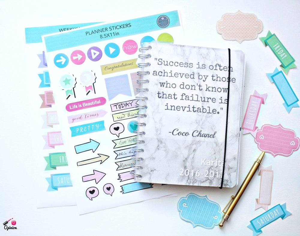 Looking for crazy affordable agenda stickers? Printable journals? Wall art and more? Click HERE to learn more about Cohzii Printable's products!