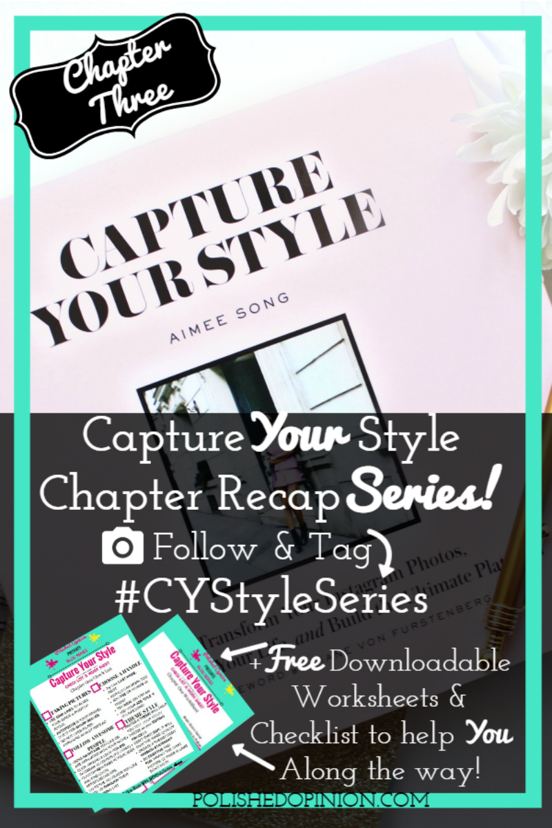 Week THREE is here! And another info FILLED Chapter it was! Flat Lay's, Travel & more! This is the chapter MOST of you are going to WANT to read! So, CLICK HERE for more information and another quick Check List & Work Sheet to download!