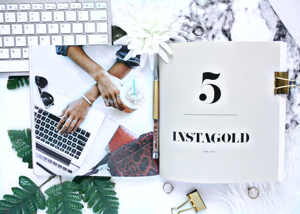 CHAPTER 5 is UP and available! With TWO worksheets and a check list! It's PACKED with useful information to take your Instagram game to a BUSINESS level! Click here to read more and enjoy the FREE downloadables!