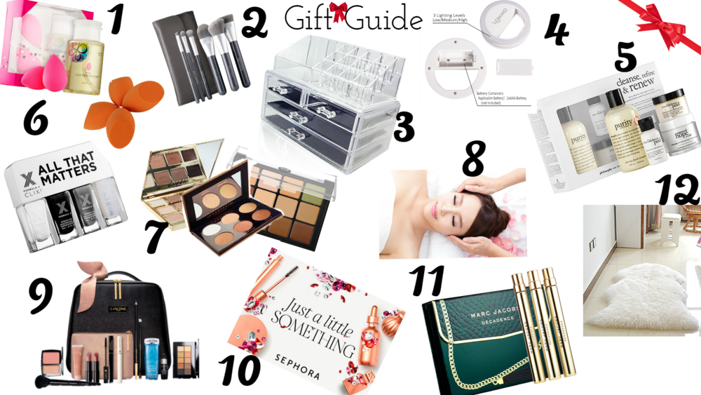 "Every year we see gift or create great gift guides for the people in our lives! But what about YOU!? I've created a GREAT Gift Guide to help your loved ones shop for you! Click to read ""12 Great Gift Ideas to Buy for the Beauty Blogger in YOUR Life!"