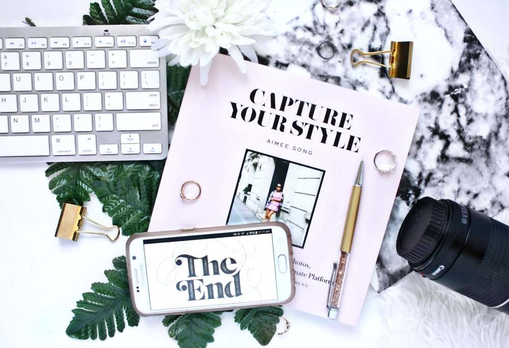 So we've finished the CAPTURE YOUR STYLE chapter recap Series! Click to read some of my takeaways from this fantastic Blog Series!