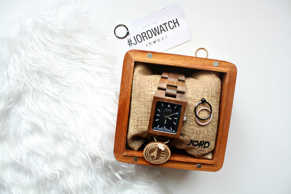 JORD -Wood watch review and GIVEAWAY!