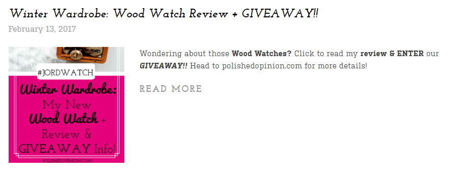 Jord Watch Review On this Round Up! Click for more!