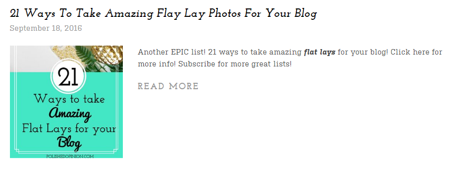 21 amazing flat lays listed in this round up! Click for more!