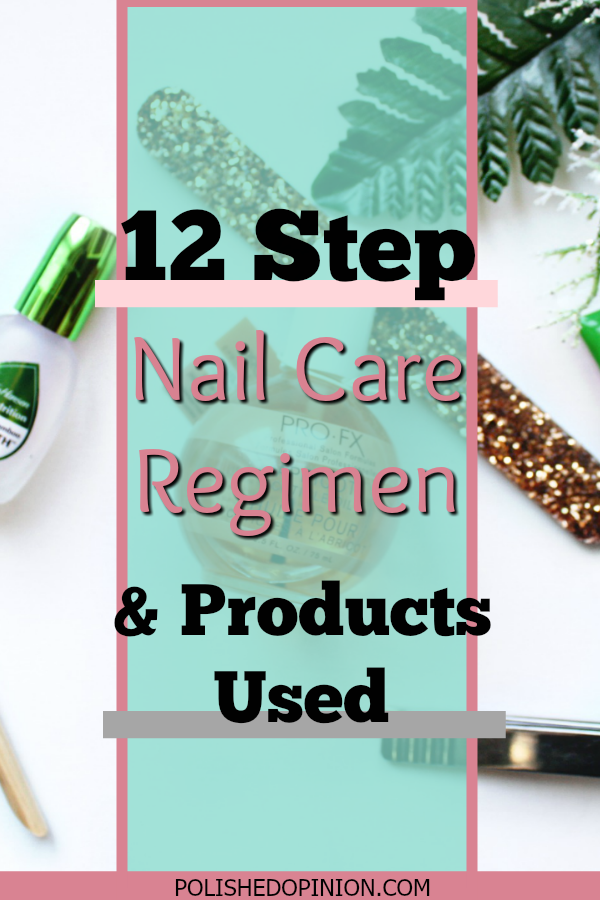 Today I'm sharing my SIMPLE 12 step Nail Care Regimen plus the products I love to use! Click here to read how I keep my nails done weekly and in good condition!