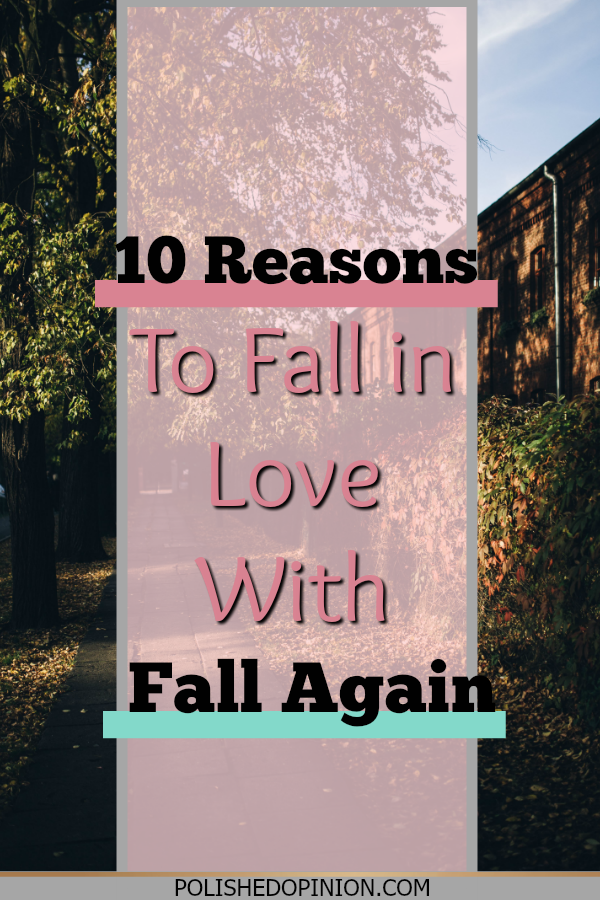 Leaves are starting to change, the temperature is starting to dip!! So today we're counting down the 10 NEW REASONS to fall in love with Fall!! Click for my awesome list + an extra surprise!!