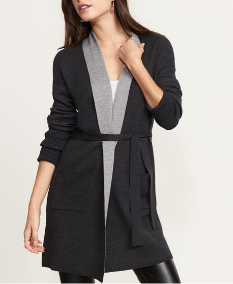 - Belted Cardigan With Pockets $69.95
