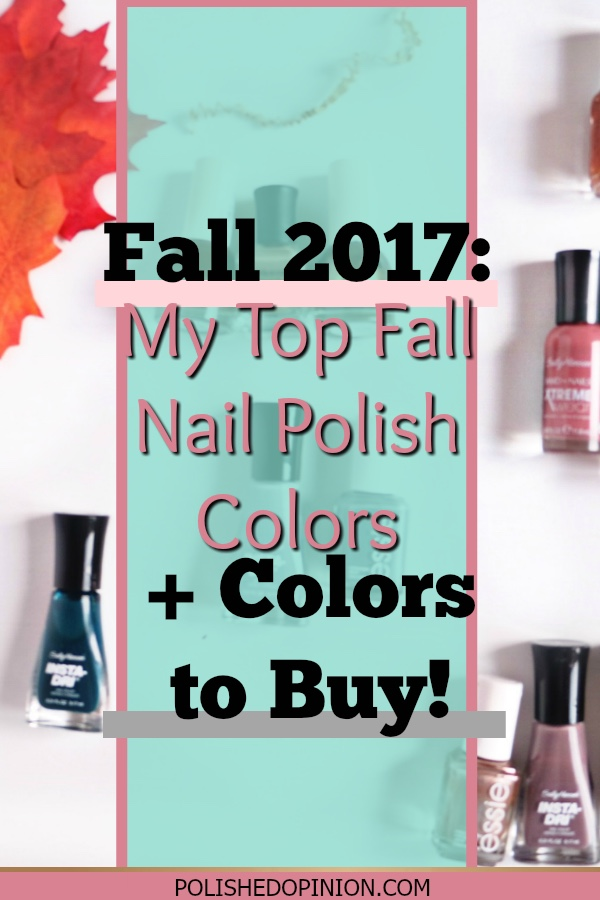Fall Fashion, Booties, Fall nail polish! Click to see what my current favorite fall nail colors are + what I plan to add to my collection!