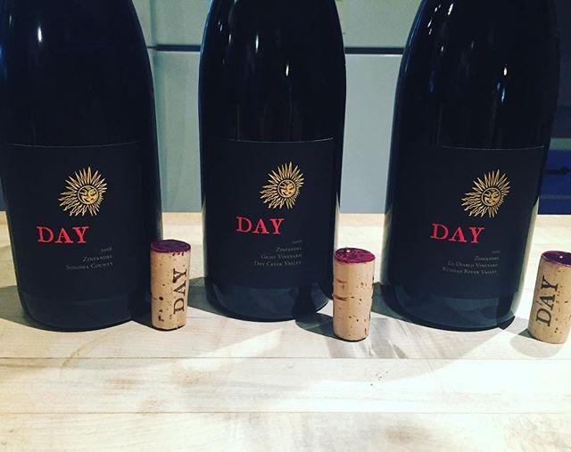 Checking in on our #currentreleasetrio 🔥🔥💯💯👌👌 . . . . . . . . . . . . . . #dayzinfandel #zinfandel #zinfandelwine #daywine #daywines #drycreekvalley #russianrivervalley #wine #zin #ehrenjordanwinecellars #gristvineyard #eldiablo #eldiablovineyard #sonomacounty #sonomacountyblend #winecountry #drinkwine #drinkgreatwine #elegance #purpledranks #2015 #2016 #2015vintage #2016vintage #ehrenjordan