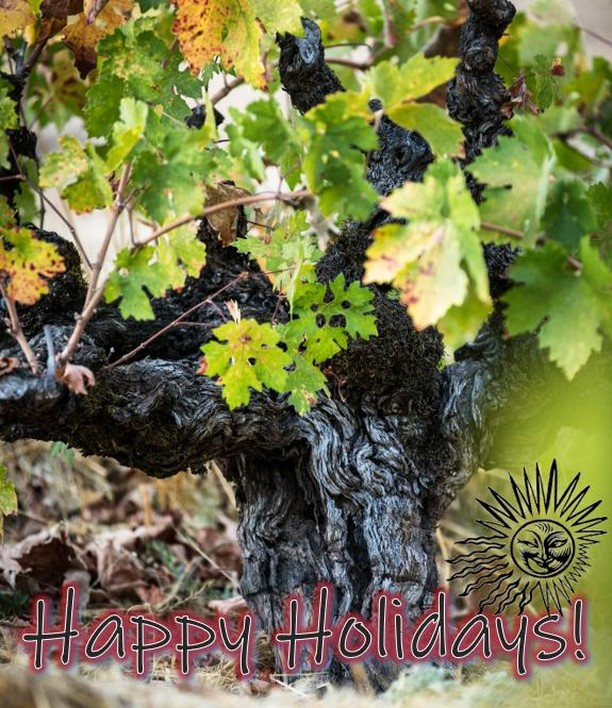 As 2018 winds down, we want to acknowledge how #grateful we are for all our wonderful customers! Happy Holidays & Thank you so much for all your support!! Photo Credit: @bonafideproductions . . . . . . . . . . . . . #dayzinfandel #zinfandel #oldvine #oldvinezinfandel #haynevineyardrootstock #dayzinfandelestate #sthelena #happyholidays #holidaywine #dryfarmed #organicallyfarmed #dayzin #ehrenjordan #sonomacounty #napacounty #winecountry #naturalwine #restrainedzinfandel #balancedwines