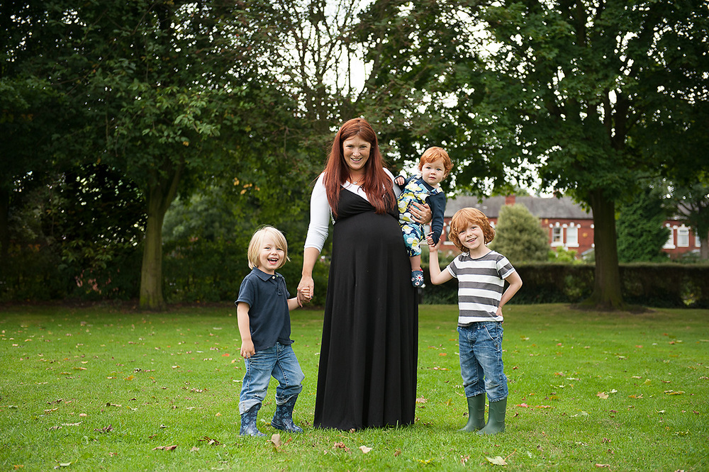 four children at the park near hale cheshire, family photography near manchester