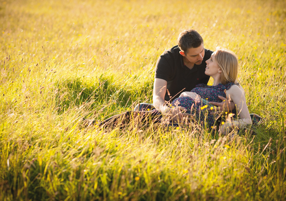 sunset outdoor maternity photography cheshire