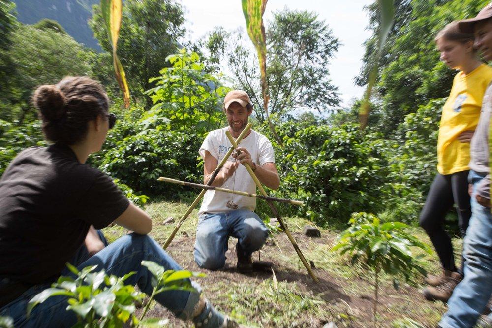 Permaculture, Permaculture workshop. PDC, Permaculture Design Certification, organic farm, farm, small farm, course, Tzununa, Lake Atitlan, Guatemala, Central America, Atitlan Organics