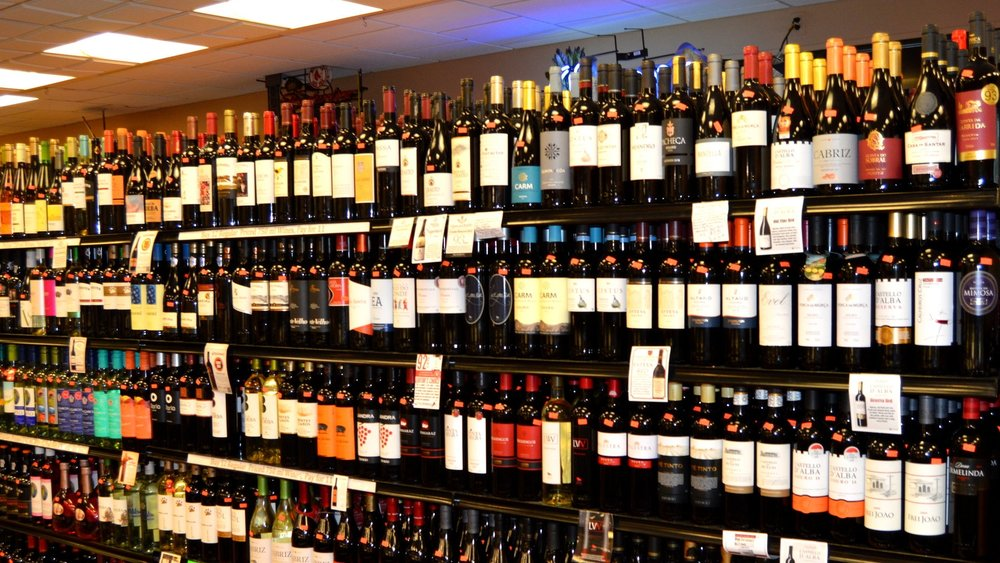 Portuguese Wine Shelf